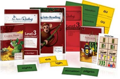 All About Reading Level 3 Materials