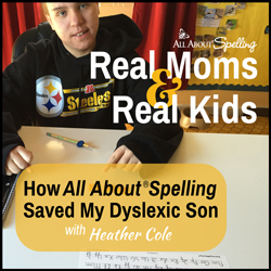 Using All About Spelling with Dyslexia